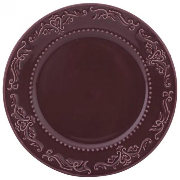 conjunto 6 pratos rasos acanthus especiarias sumac