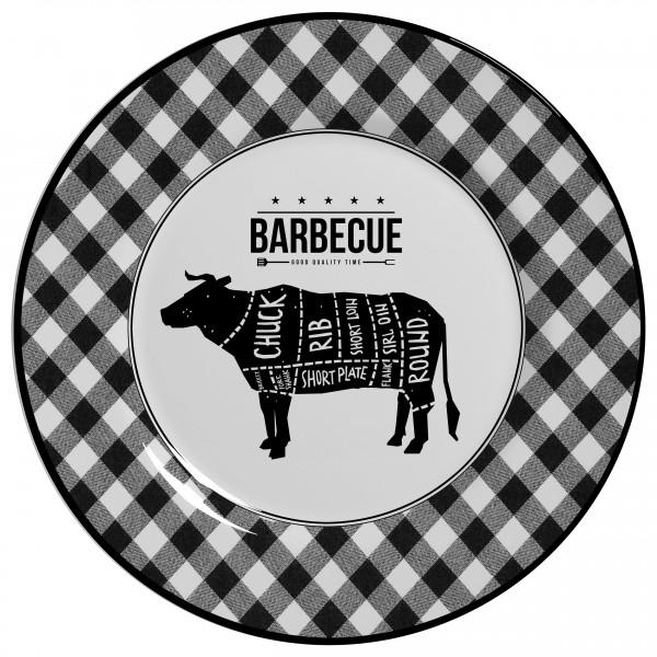 pratos rasos barbecue