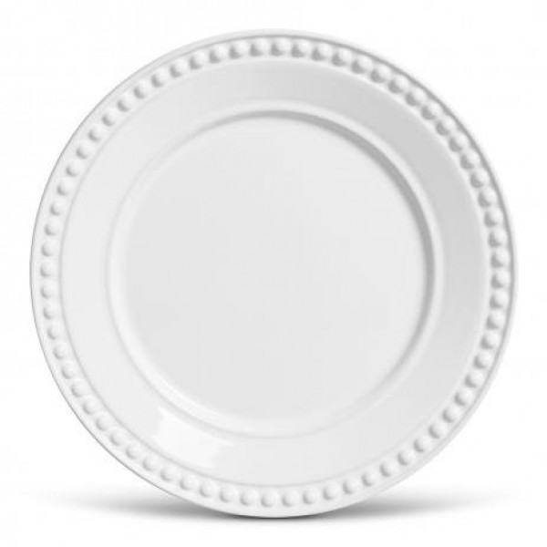 conjunto 6 pratos rasos atenas branco