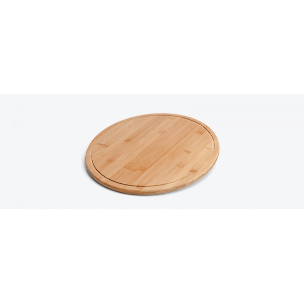 tábua para pizza em bambu supreme