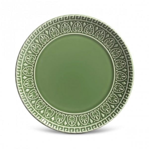 prato de sobremesa greek verde salvia