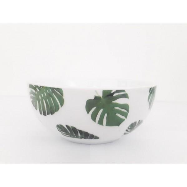 bowl folhagem verde