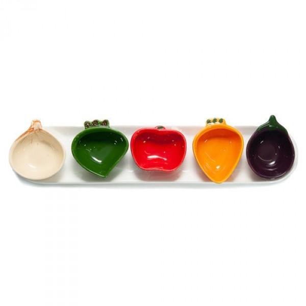 bandeja de mini legumes