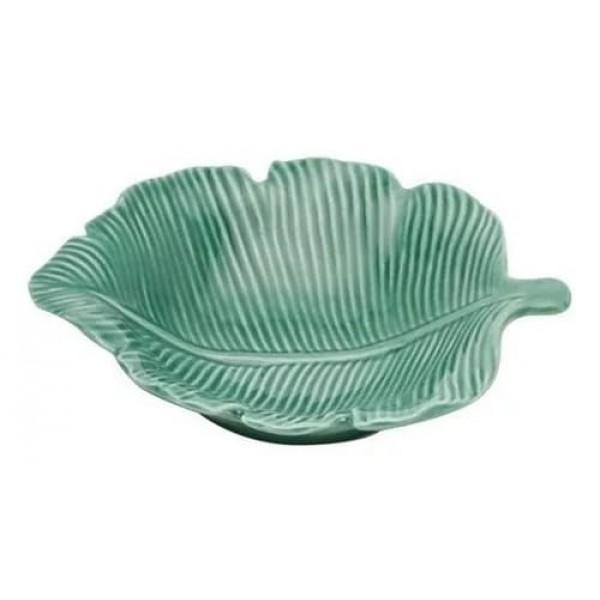petisqueira bowl em porcelana folha