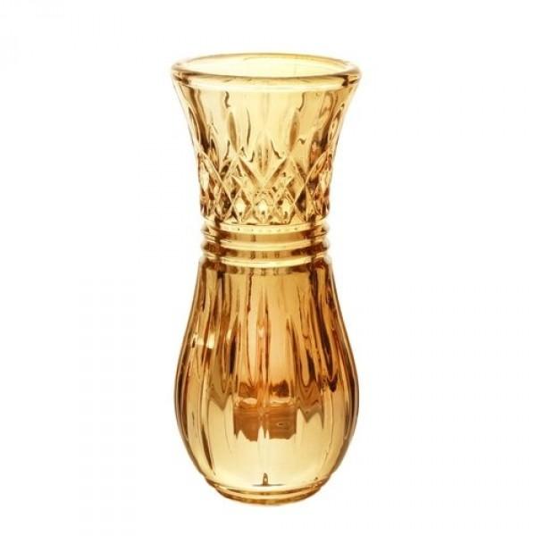 vaso cristal wolff âmbar