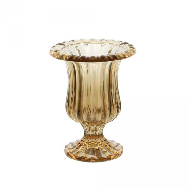 vaso lyor renaissance ambar metalizado