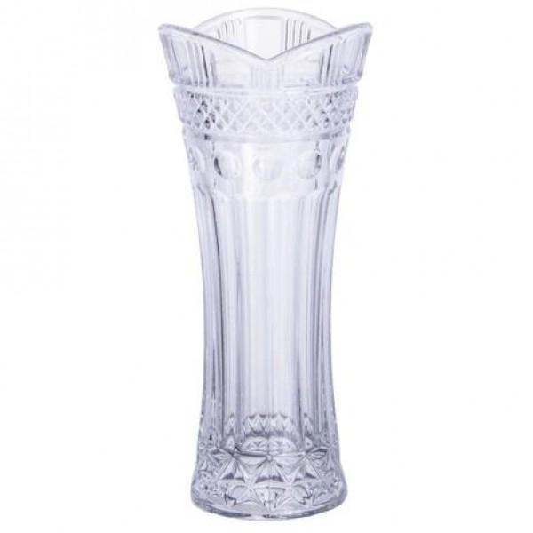 vaso de  cristal floreiro solitário clássico