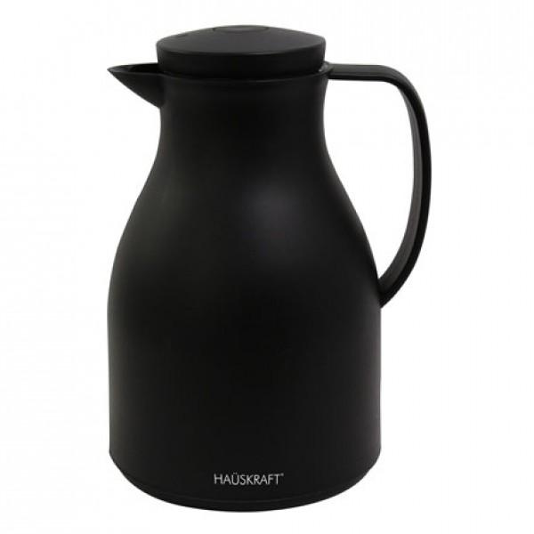 garrafa térmica basic preto 1 litro hauskraft