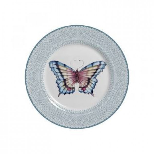 prato de sobremesa borboleta