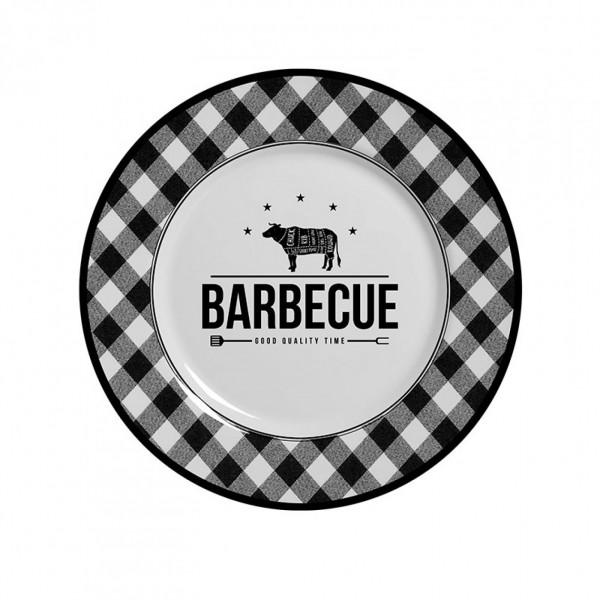 prato de sobremesa barbecue