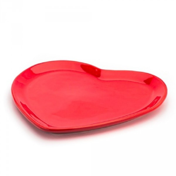 prato raso coração