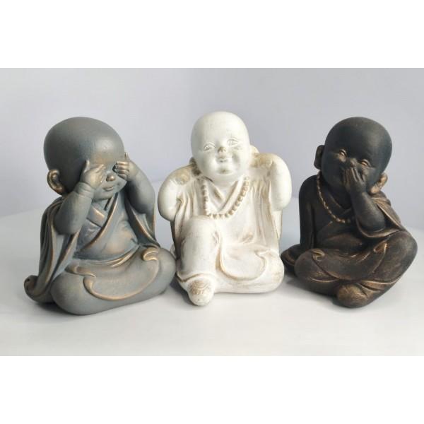 buda trio budinha surdo cego mudo