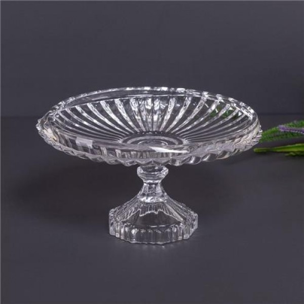 prato para bolo cristal lyor renaissance