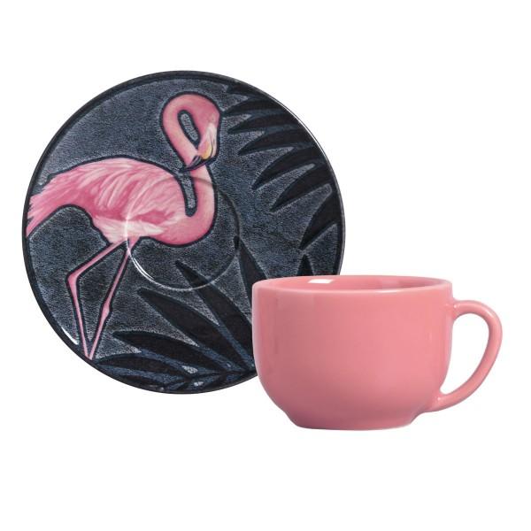 jogo 6 xícaras chá camargue