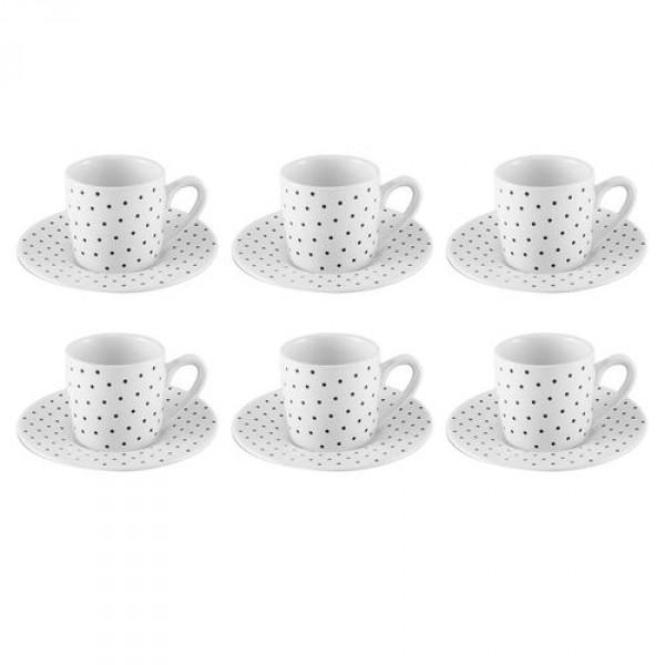 jogo 6 xícaras café petit