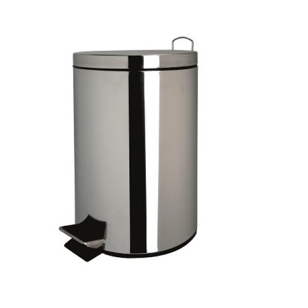 lixeira de inox 5 litros