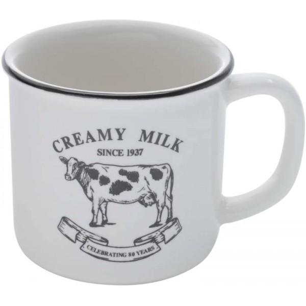 caneca de porcelana creamy milk 230ml