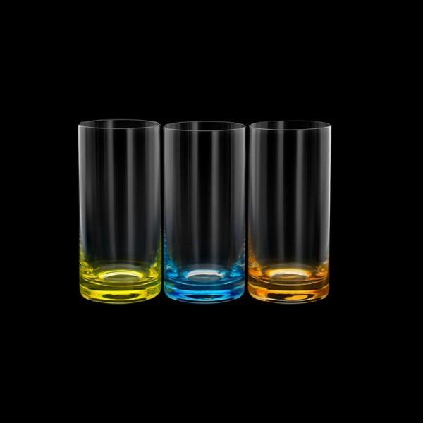 conjunto  6 copos de cristal long drink