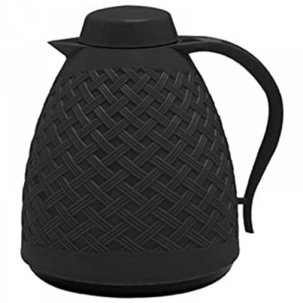 garrafa térmica rattan 750 ml preto paramount