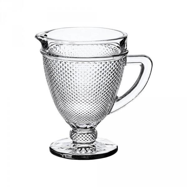 jarra de vidro bico de jaca