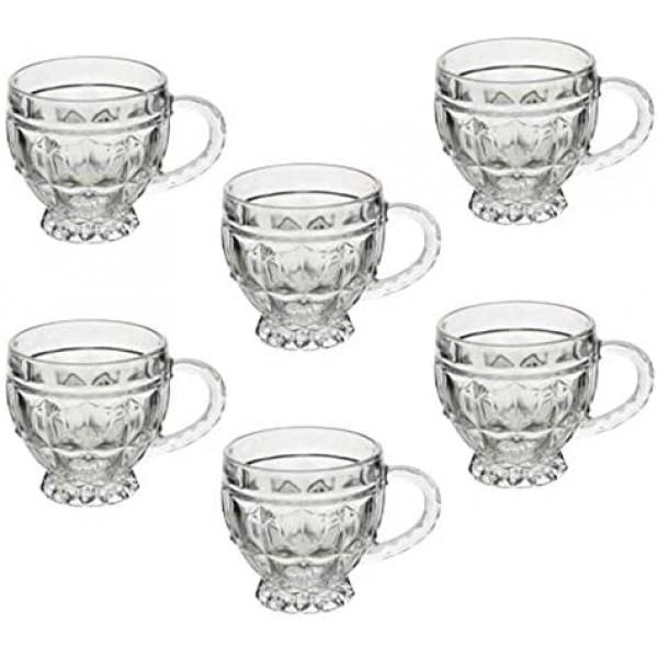 xícara de cristal renaissence lyor
