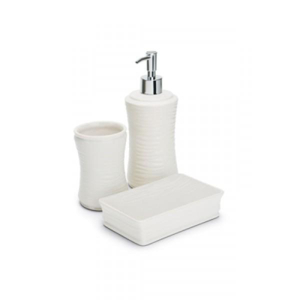 kit lavabo hauskraft cerâmica