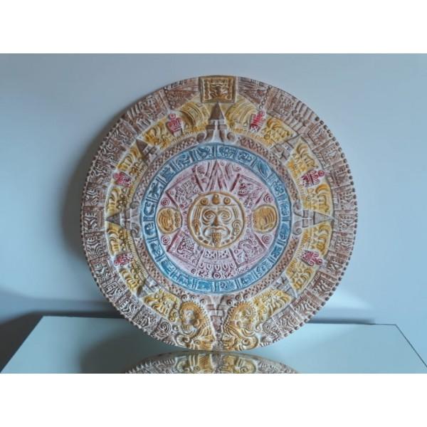 calendario maya colorido