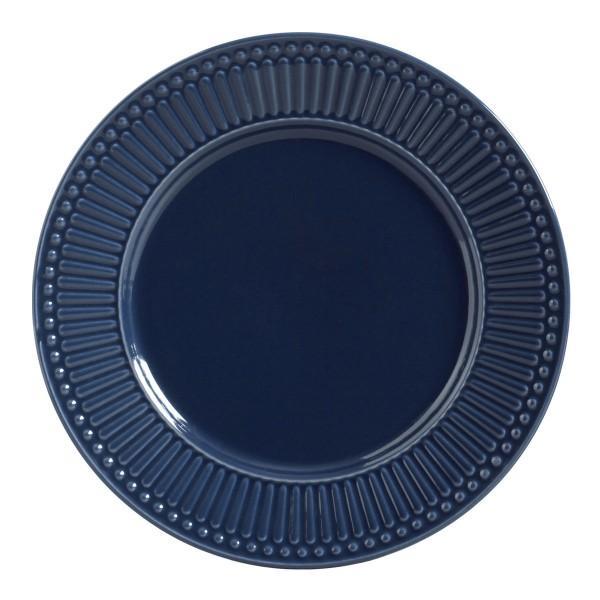 conjunto 6 pratos rasos roma deep blue porto brasi...
