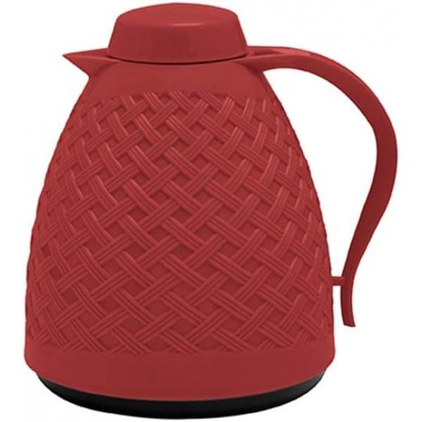 garrafa térmica rattan 400 ml vermelho paramount